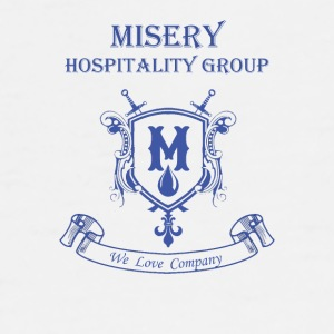 Misery Hospitality Group - We love company - Men's Premium T-Shirt
