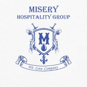 Misery Hospitality Group - We love company - Men's Premium Long Sleeve T-Shirt