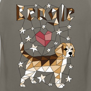 Geometric Beagle Hoodies - Men's Premium Tank