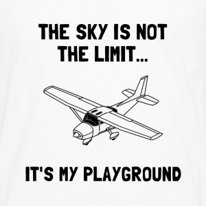 Sky Playground Plane - Men's Premium Long Sleeve T-Shirt