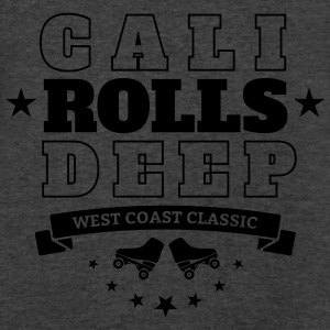 CALI ROLLS DEEP Tanks - Men's V-Neck T-Shirt by Canvas