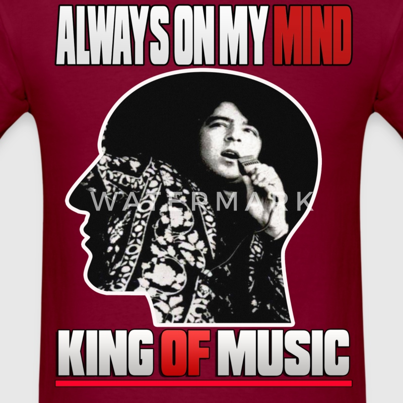 Ahmad Zahir King of Pop  - Men's T-Shirt