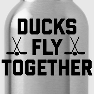 Ducks Fly Together T-Shirts - Water Bottle