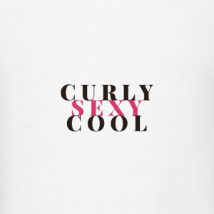 Curly Sexy Cool Tanks - Men's T-Shirt