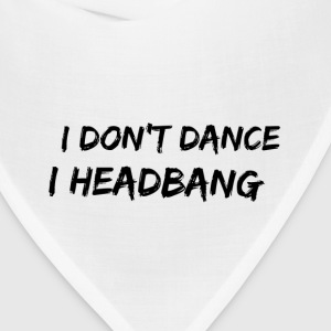 I Headbang Heavy Metal T Shirt - Bandana