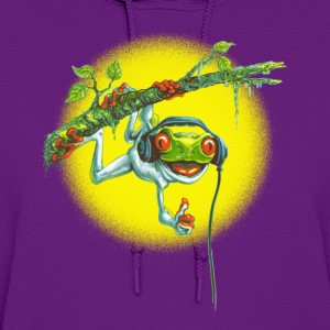 Tree Frog Hanging Out - Women's Hoodie
