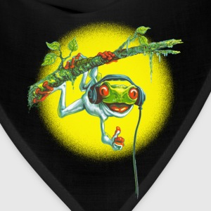 Tree Frog Hanging Out - Bandana