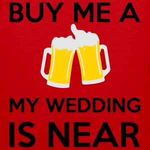 Buy Me a Beer my wedding is near T-Shirts - Men's Premium Tank