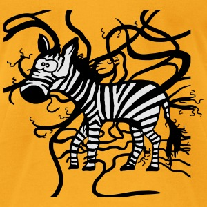 Zebra and Tapejams Bags & backpacks - Men's T-Shirt by American Apparel