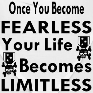 Once You Become Fearless Life Becomes Limitless - Bandana