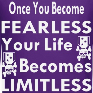 Once You Become Fearless Life Becomes Limitless - Crewneck Sweatshirt