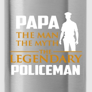 Legendary Police Shirt - Water Bottle