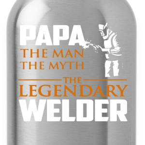 Legendary Welder Shirt - Water Bottle