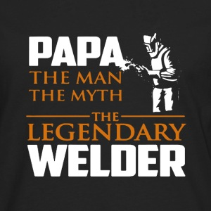 Legendary Welder Shirt - Men's Premium Long Sleeve T-Shirt