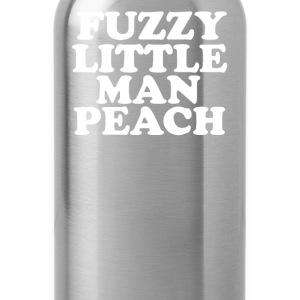 Old Gregg Quote - Fuzzy Little Man Peach - Water Bottle