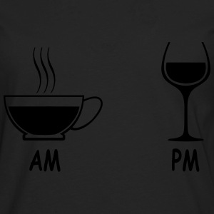 am pm - Men's Premium Long Sleeve T-Shirt