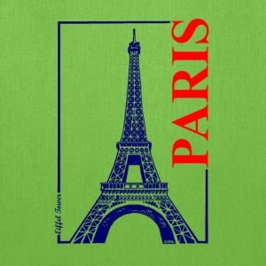 Paris-Eiffel Tower - Tote Bag