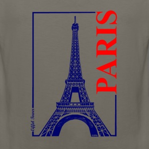 Paris-Eiffel Tower - Men's Premium Tank