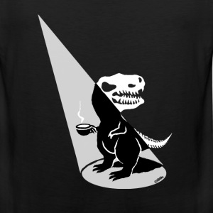 Tea Rex show time T-Shirts - Men's Premium Tank