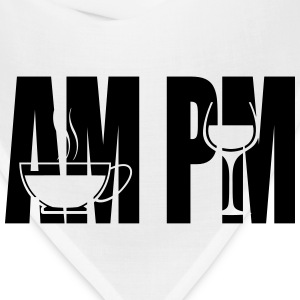 am pm silhouette - Bandana