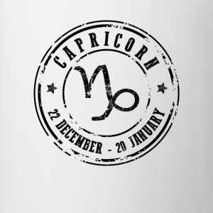 Capricorn T-Shirts - Coffee/Tea Mug