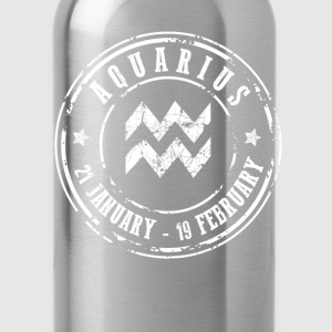 Aquarius T-Shirts - Water Bottle