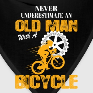 Bicycle Old Man T-Shirts - Bandana