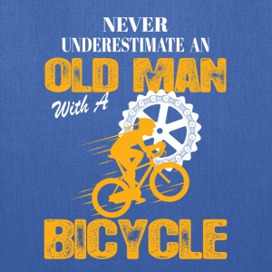 Bicycle Old Man T-Shirts - Tote Bag