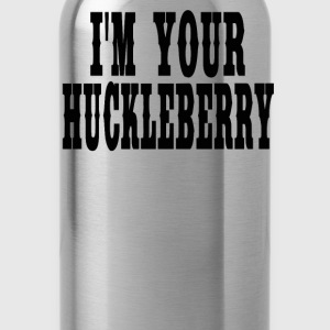 Tombstone Quote - I'm Your Huckleberry  - Water Bottle
