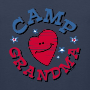Camp Grandma Kids' Shirts - Men's Premium Tank