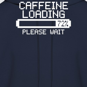 Caffeine Loading Jokes Navy - Men's Hoodie