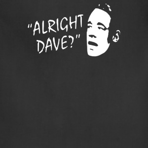 ALLRIGHT DAVE FUNNY STENCIL MENS T SHIRT - Adjustable Apron
