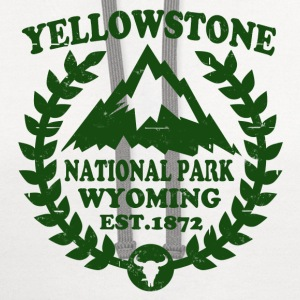 YELLOWSTONE NATIONAL PARK - Contrast Hoodie