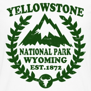 YELLOWSTONE NATIONAL PARK - Men's Premium Long Sleeve T-Shirt