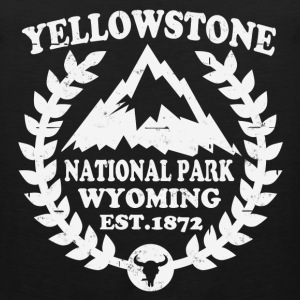 YELLOWSTONE NATIONAL PARK - Men's Premium Tank