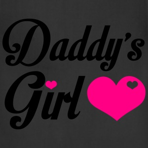 Daddy's Girl - Cute Girl Shirt T-Shirts - Adjustable Apron
