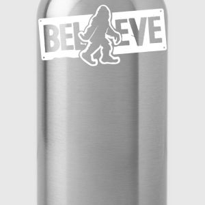 Believe Big Foot Sasquatc Kids' Shirts - Water Bottle