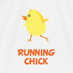 Running Chick - Men's Premium T-Shirt