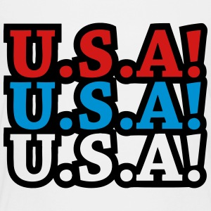 U.S.A! U.S.A! U.S.A! (chant) Kids' Shirts - Toddler Premium T-Shirt