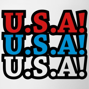 U.S.A! U.S.A! U.S.A! (chant) T-Shirts - Coffee/Tea Mug