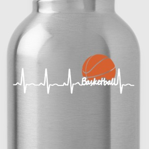 Basketball Heartbeat - Water Bottle