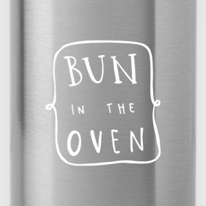 Bun In The Oven Maternity T Shirt - Water Bottle