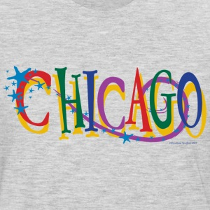 Chicago Stars and Stripe - Men's Premium Long Sleeve T-Shirt