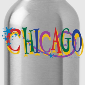 Chicago Stars and Stripe - Water Bottle