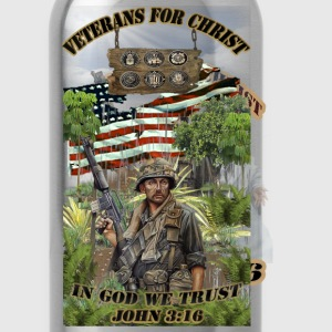 VETERANS FOR CHRIST JOHN 316 FRONT.png T-Shirts - Water Bottle