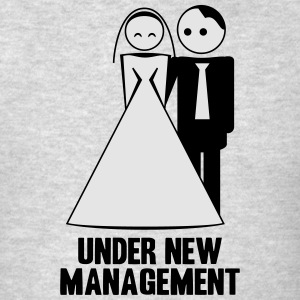 under new management 2c Hoodies - Men's T-Shirt