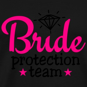 bride protection team 2c Long Sleeve Shirts - Men's Premium T-Shirt