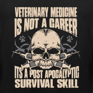Veterinary Medicine Shirt - Men's Premium Tank