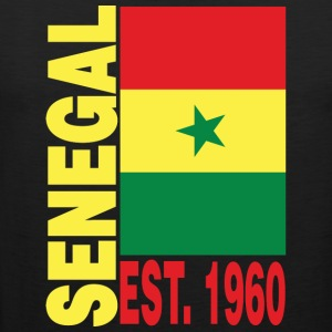 Senegal Independence Day T-Shirt - Men's Premium Tank