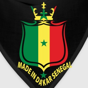 Made In Dakar Senegal Flag T-Shirt - Bandana